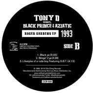 Tony D presents Black Prince & Aziatic - Roger Gardens EP