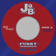 DJ A-L - Funky Presidents / Pe Vs. The Jb's (Blue Vinyl)
