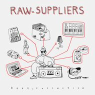 Raw Suppliers - beat_collective (Marbled Vinyl)
