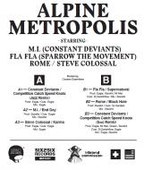 Various (Trilateral Commission presents) - Alpine Metropolis