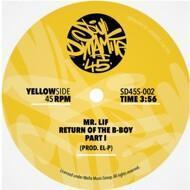Mr. Lif - Return Of The B-Boy (Blue Vinyl)