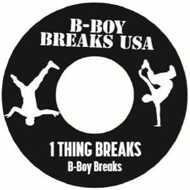 Various - B-Boy Breaks USA (White Vinyl)