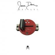 Jesse Dean Designs - JDDX2RS-A – Numark PT01 Scratch Contactless Fader (Red Plate)
