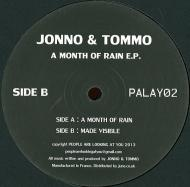 Jonno & Tommo - A Month Of Rain E.P.