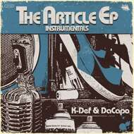 K-Def & DaCapo - The Article EP (Instrumentals) (Colored)