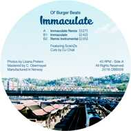 Ol' Burger Beats - Immaculate [Black Vinyl] (Remix)