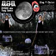 Slug Christ - Sometimes Even The Moonlight Hurt My Eyes (Clear/Black Splatter)