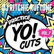 DJ Ritchie Ruftone - Practice Yo! Cuts Vol. 7 (Light Blue Vinyl)