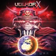 Volkor X - This Means War (Clear/Blue/Black Vinyl)