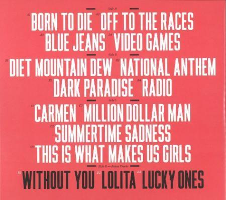 Lana Del Rey Born To Die Deluxe Edition Vinyl Lp Vinyl Digital Com Online Shop